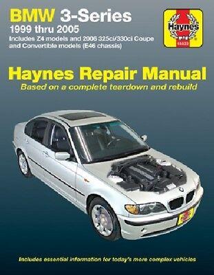Repair Manual for BMW 330Ci 323Ci 325Ci 330i 325xi (1999 - 2005) Haynes 18022