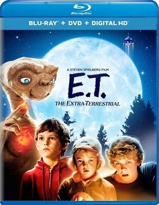 E.T. The Extra-Terrestrial [New Blu-ray] With DVD, UV/HD Digital Copy, 2 Pack, - Halloween 2 The Movie 2017
