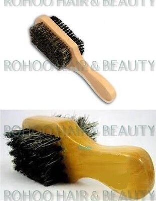 ANNIE MINI BOAR BRISTLES CLUB BRUSH *SOFT AND HARD BRISTLES* FOR HAIR AND BEARD