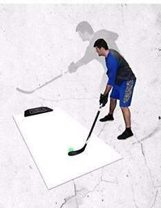 New Speedy Passer Shooting Pad with Pass Rebounder FREE SHIPPING Hockey Shooting Training Aid with Plastic Sheet