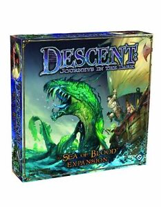 New and sealed Descent Sea of Blood Expansion