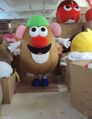 High Quality Mr Potato Head Mascot Costume Toy Story Fancy Outfit Dress EPE - Potato Head Costumes