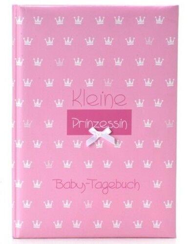 Goldbuch Babytagebuch Baby Album Fotoalbum kleine Prinzessin rosa Baby Tagebuch