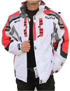 Mens White Ski Jacket