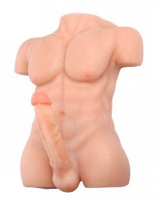 Sexflash Lifelike Chiseled Chad Male Realistic Dildo Love Doll discrete shipping