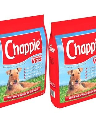 CHAPPIE - (2x15kg) - Beef Wholegrain Complete Dog Food bp Pet Feed