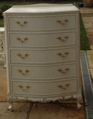 gold chest of drawers ebay