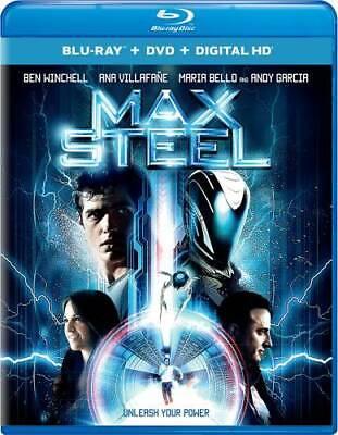 Max Steel Blu-ray DVD Digital HD - Blu-ray By Ben Winchell - VERY GOOD - $4.99
