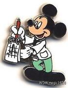 Disney Doctor Pin