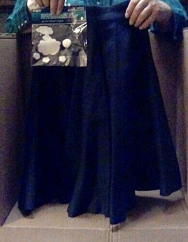 Vintage Bobby Brooks Black Felt Skirt w/Poodle Applique 1960s