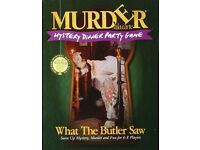 Murder Mystery Dinner Party Board Game - What the Butler Saw - New