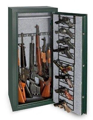Gun RACK FOR GUN SAFES 8x HANDGUNS SPACE ORGANIZER RUBBER COATED WIRE