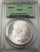 PCGS Morgan MS63