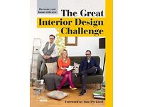 The Great Interior Design Challenge Book, BBC Series, Hardcover, NEW 250 pages