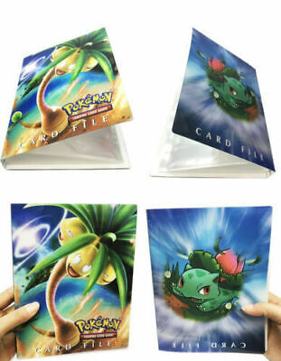 Pokemon 240 Cards Album Binder Folder Book List Collectors Capacity Holder Green