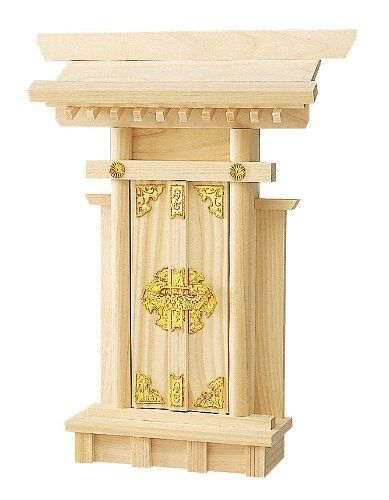 Japanese Shinto Shrine Kamidana Ofuda Paper wood stand H:350mm Made in JAPAN