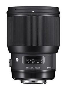 New Sigma 85mm f/1.4 DG HSM Art Lens for Nikon F (321955)