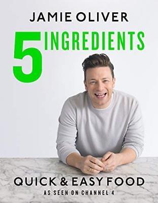 5 Ingredients - Quick & Easy Food by Jamie Oliver New Hardback Book