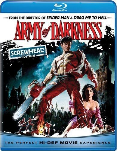Army of Darkness [Screwhead Ed (2009, REGION A Blu-ray New) BLU-RAY/WS/Screwhead