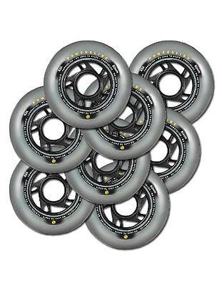 8x Powerslide 80mm / 83A Fitness Rollen! NEU! für alle Inline Skates Inliner