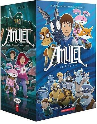 Amulet Box Set  Kazu Kibuishi 2016, Book