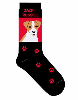 Jack Russell Dog Cotton Socks Gift/Present - Slight Seconds