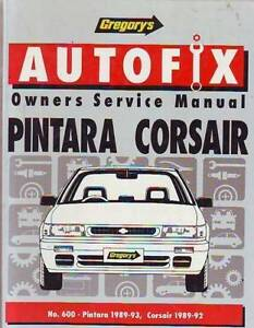NISSAN PINTARA FORD CORSAIR WORKSHOP SERVICE   MANUAL******1993 Sefton Bankstown Area Preview