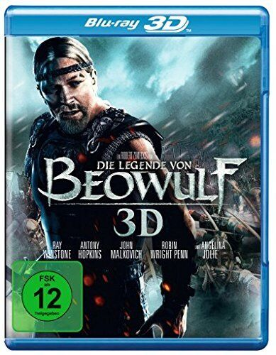 The Legend of Beowulf Blu-ray 3D - Director's Cut NEW Import