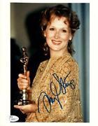 Meryl Streep Signed