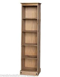 Waxed Pine Bookcase