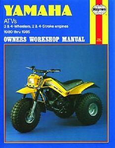 haynes service repair manual yamaha ytm200 ytm225 tri moto 1983 1984 1985 ebay Yamaha 2010 ATV S Limited Edition Yamaha 700 ATV