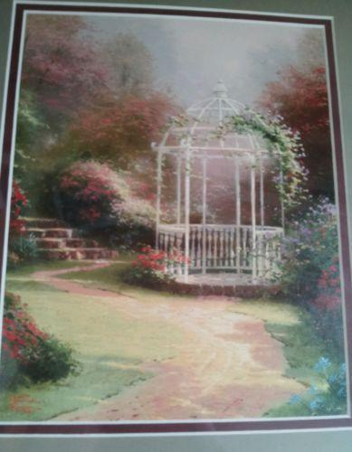 Thomas kinkade library edition ebay - Home interiors thomas kinkade prints ...