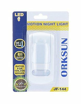 Orksun Automatic LED Night Light, with Precision Light & Motion Sensor  (JF-144)
