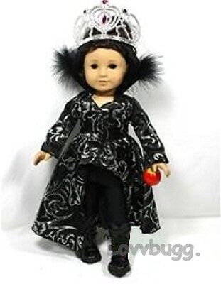 "Lovvbugg Snow White Wicked Witch Costume for 18"" American Girl Doll Clothes"