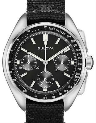 NEW Bulova Men's 96A225 Chronograph Lunar Pilot Archive Series 45mm Watch ()