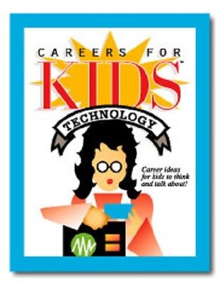 Technology, Careers for Kids, deck, talk about, think about, Brand New, Sealed