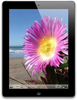 Apple iPad 4th Generation 9.7in 16gb Wifi Black