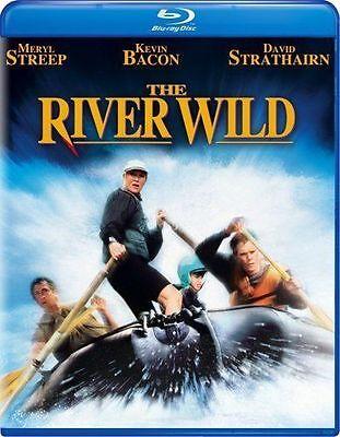 Wild Adventures Halloween (Blu Ray THE RIVER WILD. Meryl Streep, Kevin Bacon. UK compatible. New)