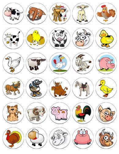 Farm Animal Cake Decorations | eBay