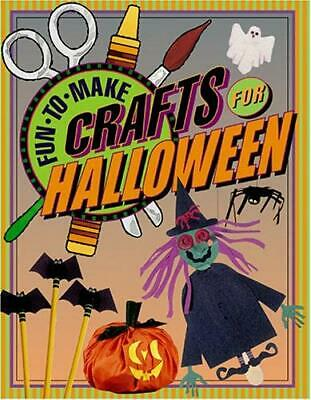 Fun Crafts For Halloween (Fun-to-Make Crafts for Halloween by Boyds Mills)