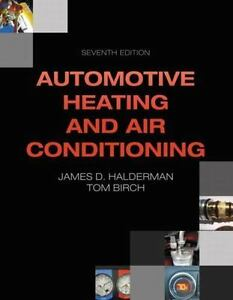 New Book:  AUTOMOTIVE HEATING AND AIR CONDITIONING by James