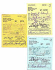 Maryland Vintage Hunting Licenses