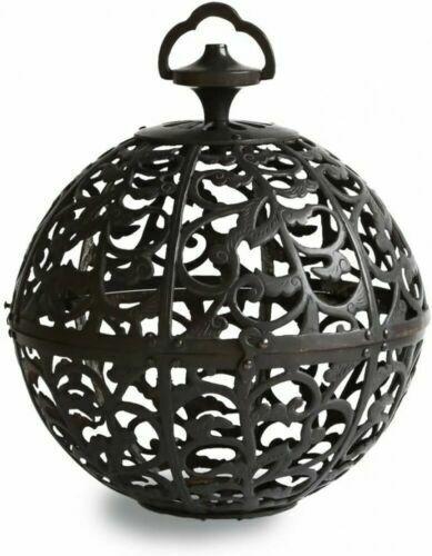 Toro Japanese Hanging Lantern Takaoka Craft Karakusa antique-like copper