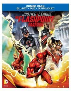 Justice League: The Flashpoint Paradox (2013, REGION A Blu-ray New) BLU-RAY/WS