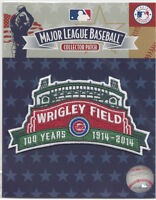 Official MLB Chicago Cubs 100 Years Wrigley Field Patch