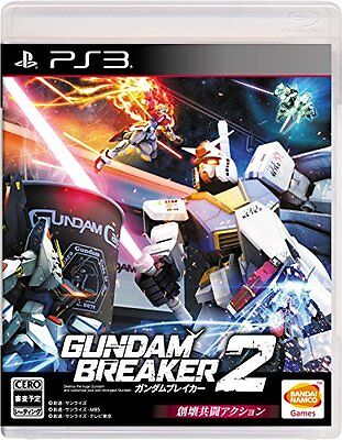 USED PS3 Gundam Breaker 2 Playstation3 Japan Import