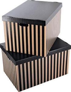 large decorative storage boxes