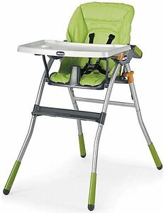 NEW Chicco Jazzy Highchair in Green