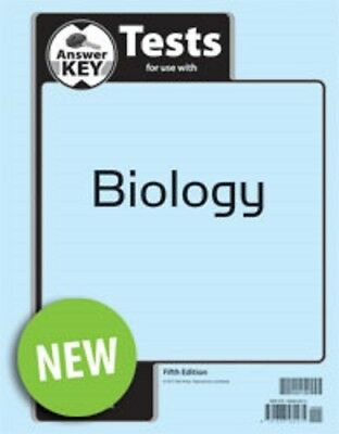 BJU Press Biology 5th Edition Tests Answer Key - 502138