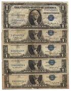 1935 Blue Seal Dollar Bill